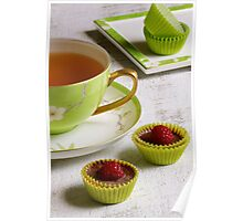 Rooibos Tea with Chocolate Treats Poster