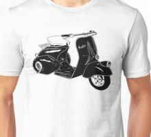 Classic Scooter Illustration Unisex T-Shirt