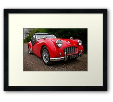Triumph TR3 Sports Car Framed Print