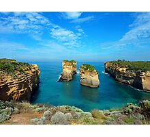 Island Archway. Great Ocean Road, Australia. Photographic Print