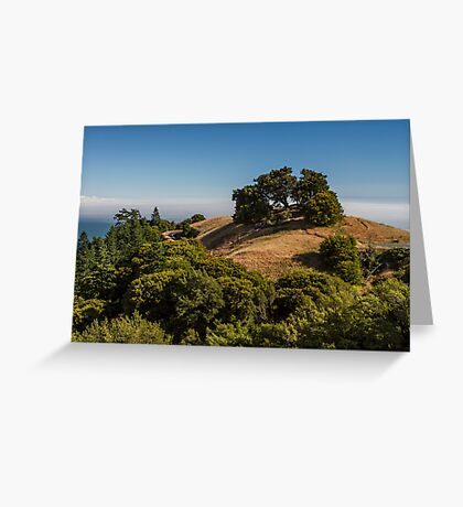 A View from Mount Tamalpais Greeting Card