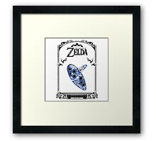 Zelda legend - Ocarina of time Framed Print