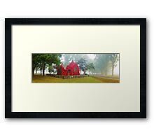 Gostwyck Chapel, Armidale, New South Wales, Australia Framed Print
