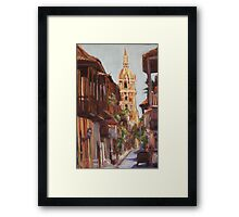 Cartagena, Colombia Framed Print