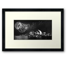 New Years Eve in Sydney Framed Print