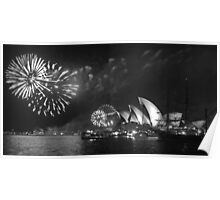 New Years Eve in Sydney Poster