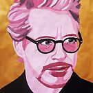 robert downey jr - gouache by cocosuspenders