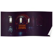 Sarcophagi si Columba 1480 in C9 crypt of Basilica di san Columbano Bobbio 19840312 0015 Poster
