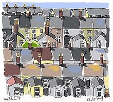 Rooftops by Tim Wells
