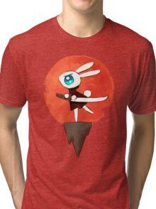 Samurai Bunny Tri-blend T-Shirt