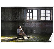 sitting in silence  Poster