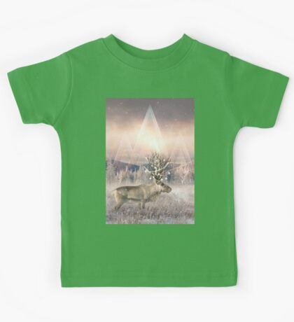 Stillness of Winter Kids Tee