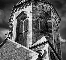St Peters Cathedral Adelaide - The Tower. by Nicholas Griffin
