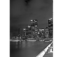 Sydney City from the Harbour Photographic Print