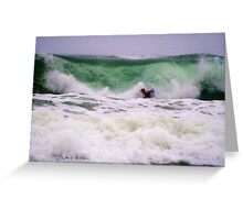 Boogie Boarder Greeting Card