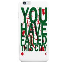 Don't fail this phone iPhone Case/Skin