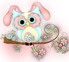 Little Miss Easter Hooty by Concetta Kilmer