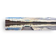 The still water from Kassasjön Canvas Print