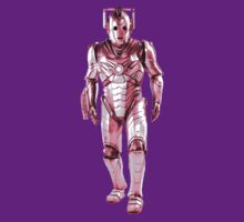 Cyberman - Pastel Pink by Marjuned