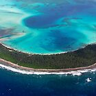 Paradise from Above - Direction Island by Karen Willshaw