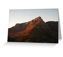 Table Mountain, Cape Town Greeting Card