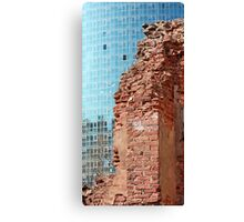 ruined wall Canvas Print