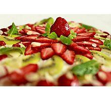strawberry Tart  Photographic Print