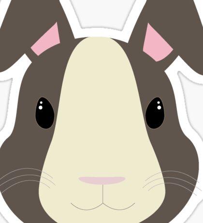 Grey rabbit Sticker