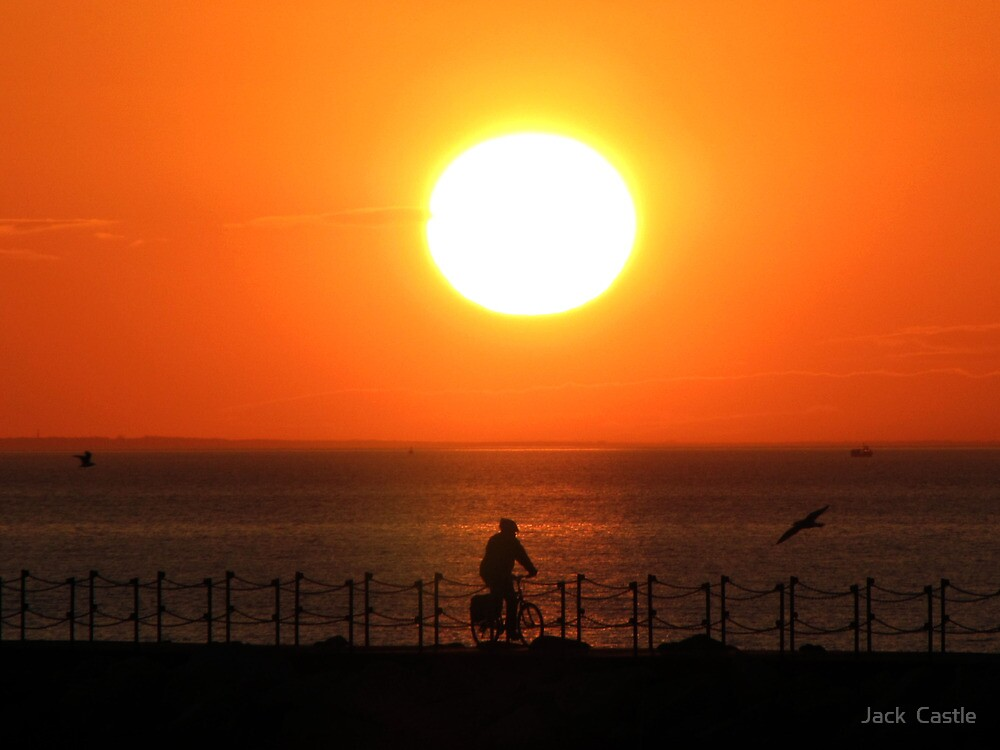 Herne Bay Sunset by Jack  Castle