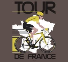 Tour De France One Piece - Short Sleeve