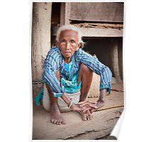 Tharu elder Poster