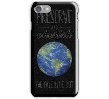 Pale Blue Dot iPhone Case/Skin