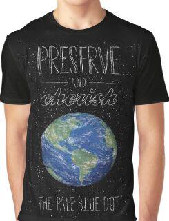 Pale Blue Dot Graphic T-Shirt
