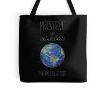 Pale Blue Dot Tote Bag