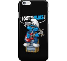 I got the blues iPhone Case/Skin
