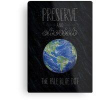 Pale Blue Dot Metal Print