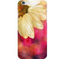 Daisy - Golden on Pink iPhone Case/Skin