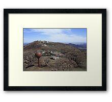 Bushfire Destruction Framed Print