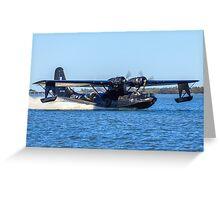 Catalina Touchdown Greeting Card