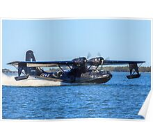 Catalina Touchdown Poster