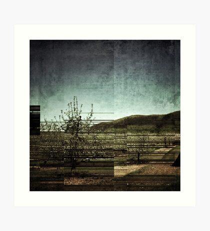 The land Art Print