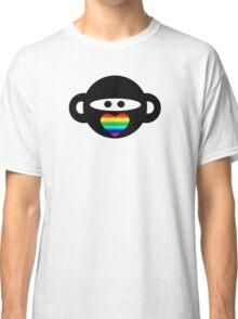 Gay Ninja Monkey Classic T-Shirt