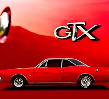 Red Dodge GTX Coupe poster by htrdesigns