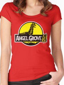 Angel Grove III Women's Fitted Scoop T-Shirt