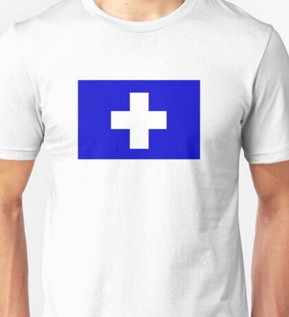Flag of the Greek Island of Icaria Unisex T-Shirt