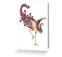 japenese bird  Greeting Card