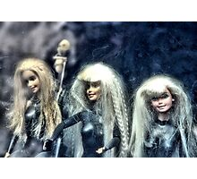 Three Barbies Photographic Print
