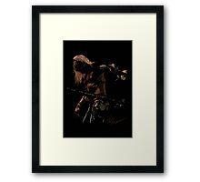 "Randy ""The Ram"" Robinson Framed Print"