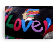 Max Car, LOVE Canvas Print