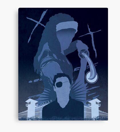 The Walking Dead Satirical Fan Art - Michonne 8x10 Canvas Print